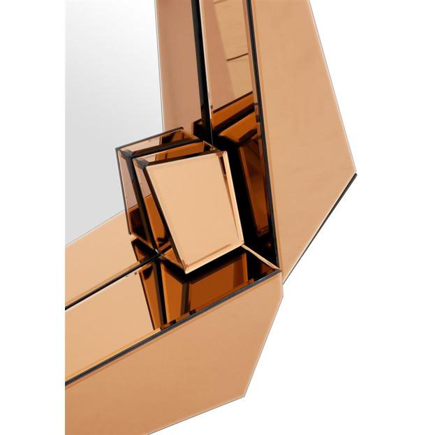 Detail spiegel Cellino goud