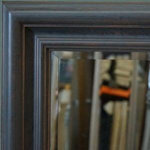 grote houten wandspiegel Rousseau