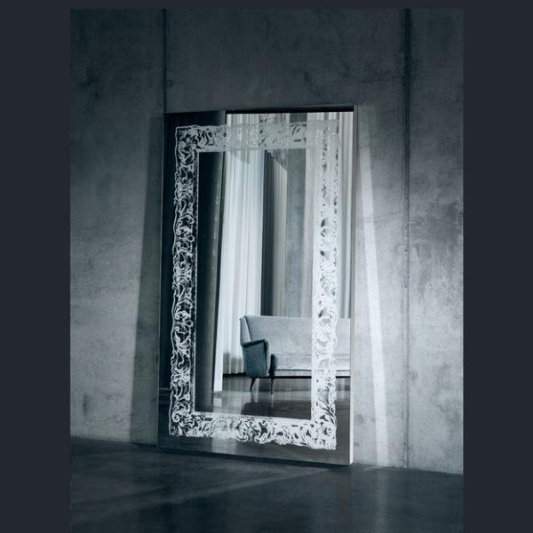 Scala spiegel met LED-lijst