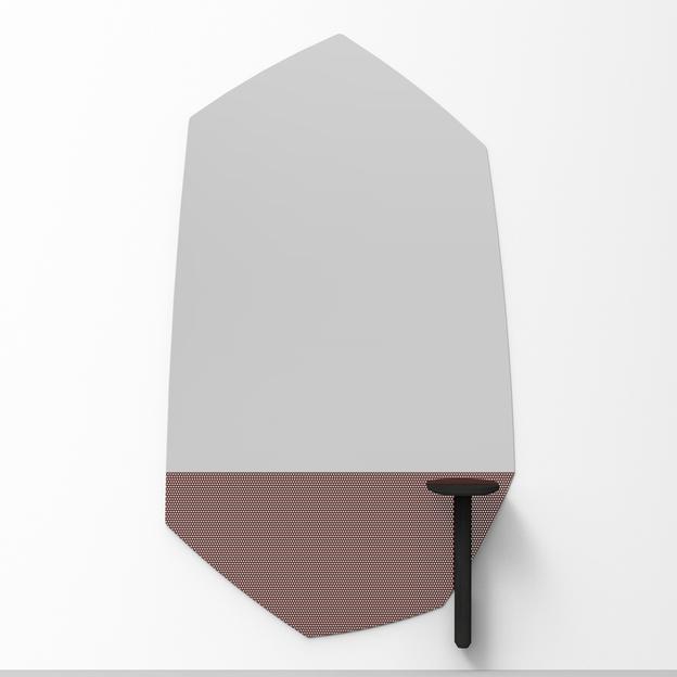 Design spiegel bij Alain Gilles