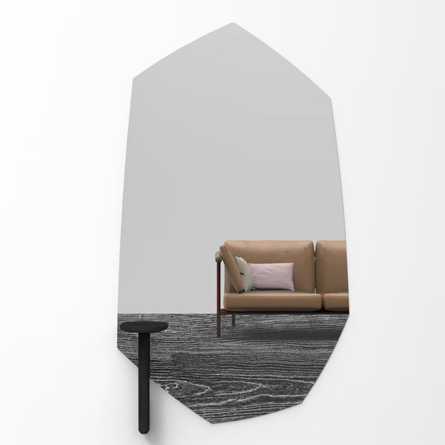Faux Table Zwart voor Faux Ontwerp Spiegel