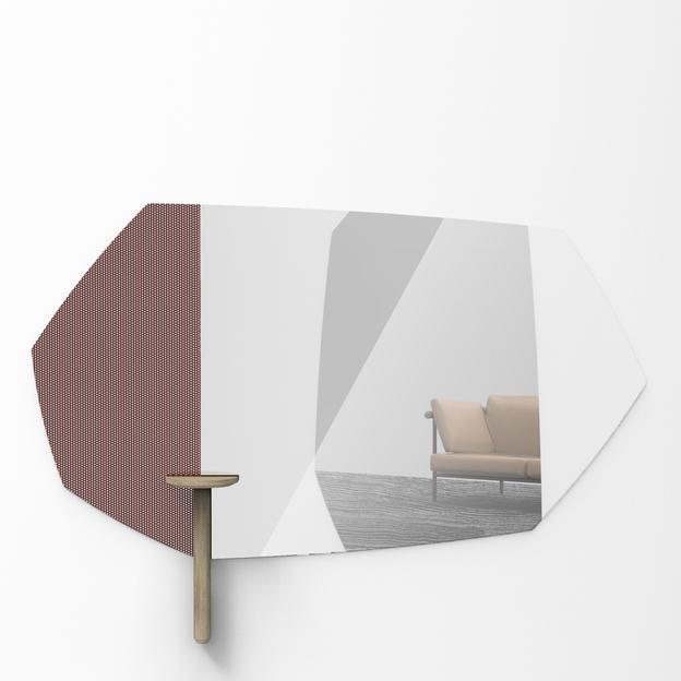 Faux Table Natural voor Faux Spiegel Usi Maison