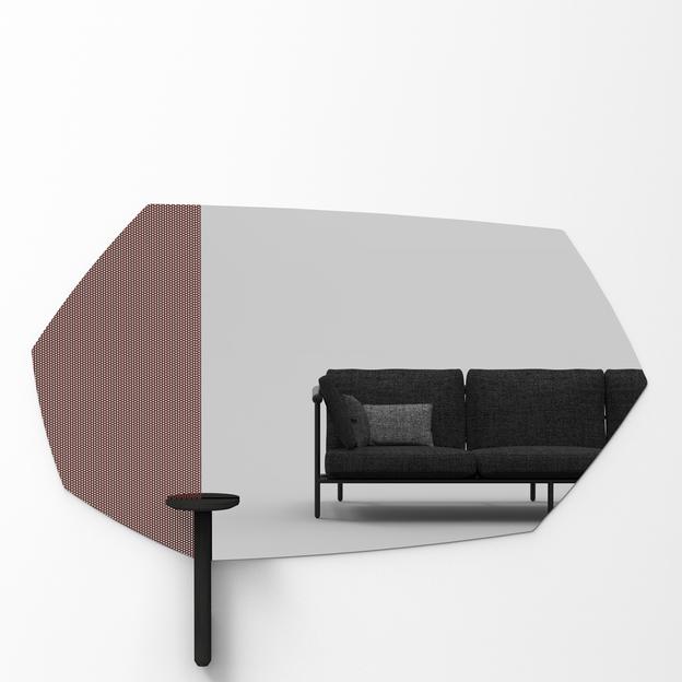 Faux Table Zwart voor Faux Spiegel Usi Maison