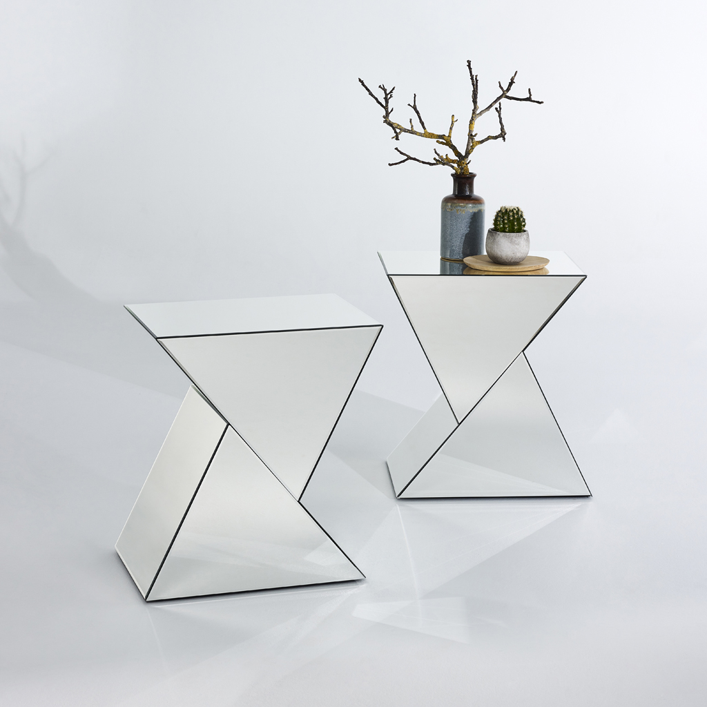 Side Table Spiegel.Duet Side Table Mirror