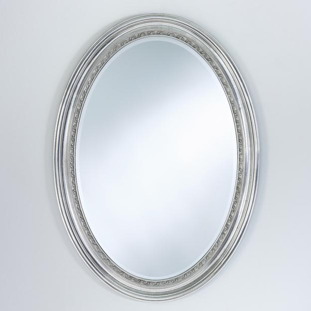 Amandine Silver ovalen Spiegel Usi Maison