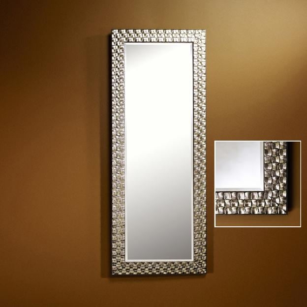 ALMERIA SILVER HALL Design spiegel