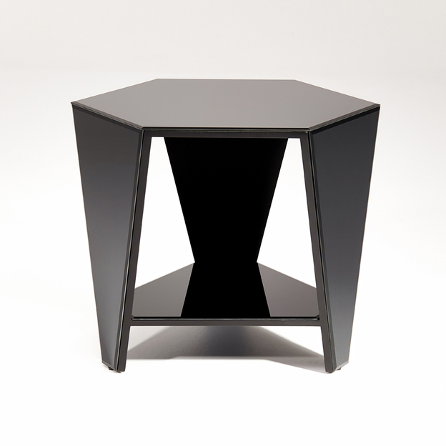 Smart Black L Tafel & Spiegel