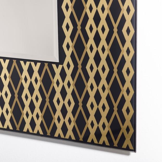 Zifara Gold Spiegel Detail
