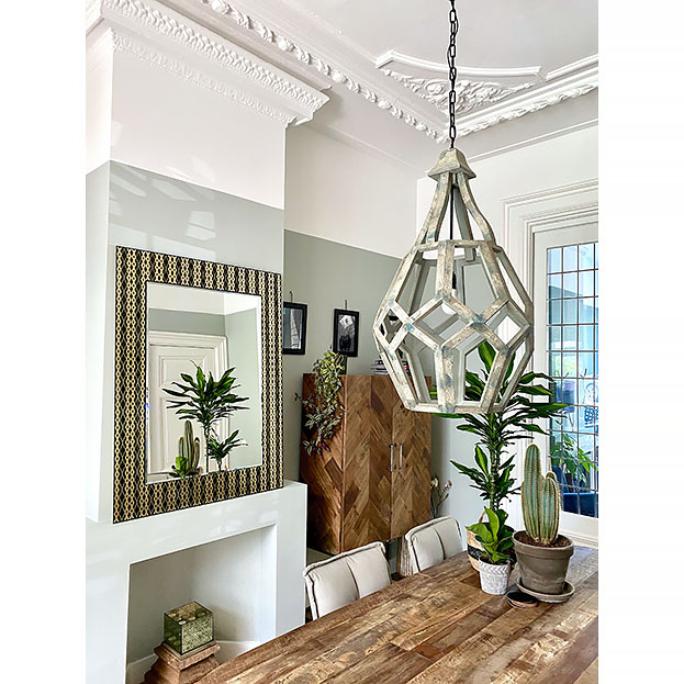 Grote design spiegel Zafira