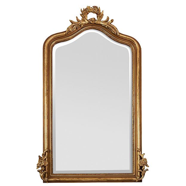 Kuif spiegel Louvre bij Usi Maison