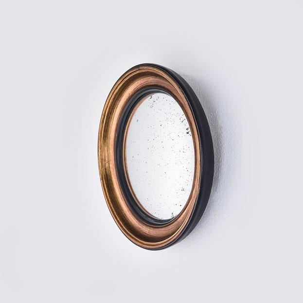 Convex Gouden Spiegel Patrijspoort
