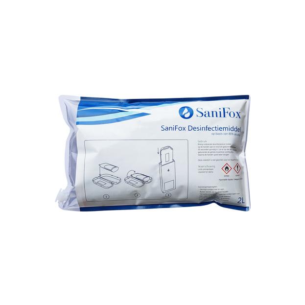 Desinfecterend middel voor SaniFox dispenser