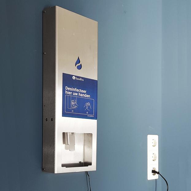 Santifox Dispenser Opgehangen aan muur Elektrisch