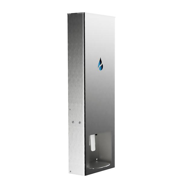 Santifox Dispenser RVS Voorkant